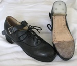 More about Fay's Leather Sole Jig Shoes Size 5