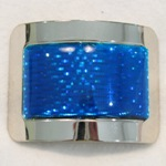 More about Jig Shoe Buckles: Blue