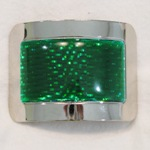 Jig Shoe Buckles: Green